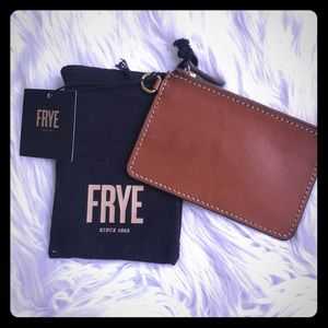 Relisted! BNWT Frye leather wallet/coin purse!